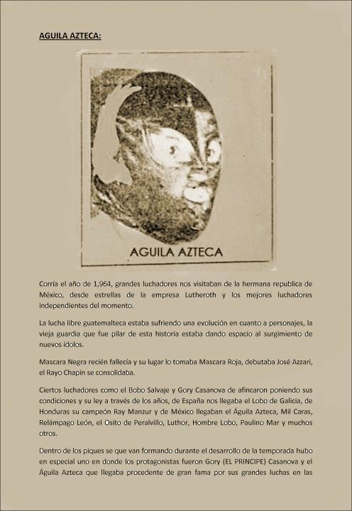 AGUILA AZTECA-1