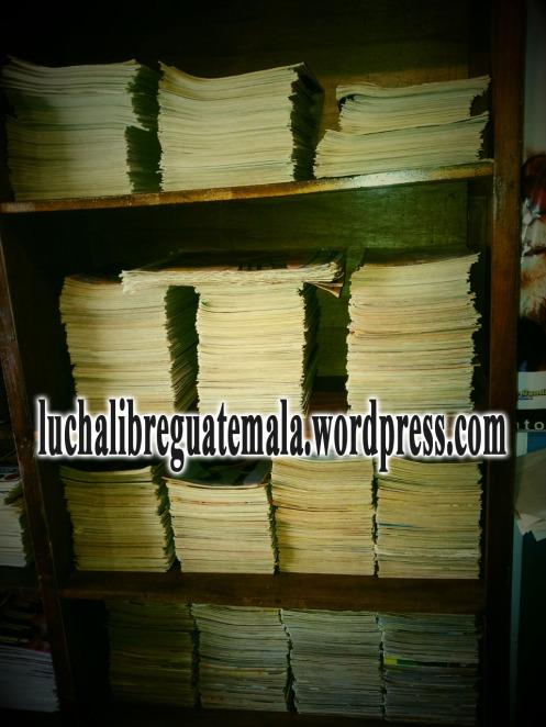 Biblioteca Historia Lucha Libre Guateamala