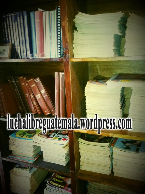 Biblioteca Historia Lucha Libre Guatemala