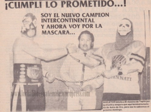 Asesino de Tepito campeon intercontinental UWA