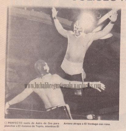 Astro de Oro vrs Asesino de Tepito 1