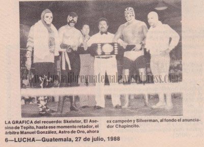 por el campeonato intercontinental UWA 2