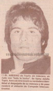 Adolfo Tapia visita Guatemala (Historia Lucha Libre Guatemala)